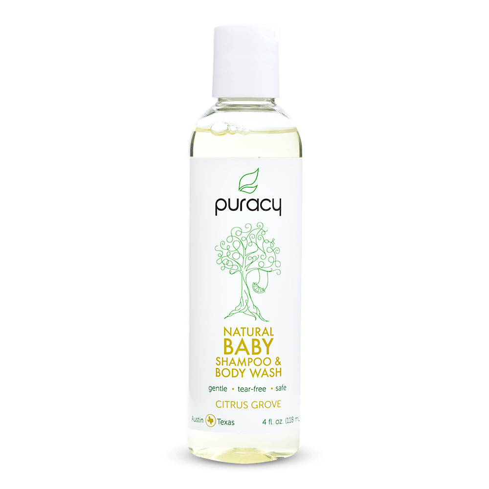 Natural Baby Shampoo & Body Wash - Citrus Grove / 4oz