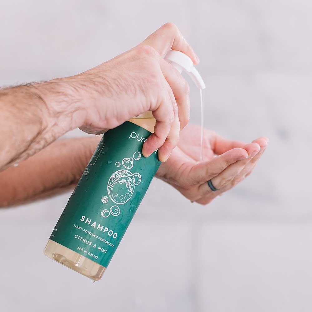 Natural Shampoo - Citrus & Mint / 16oz