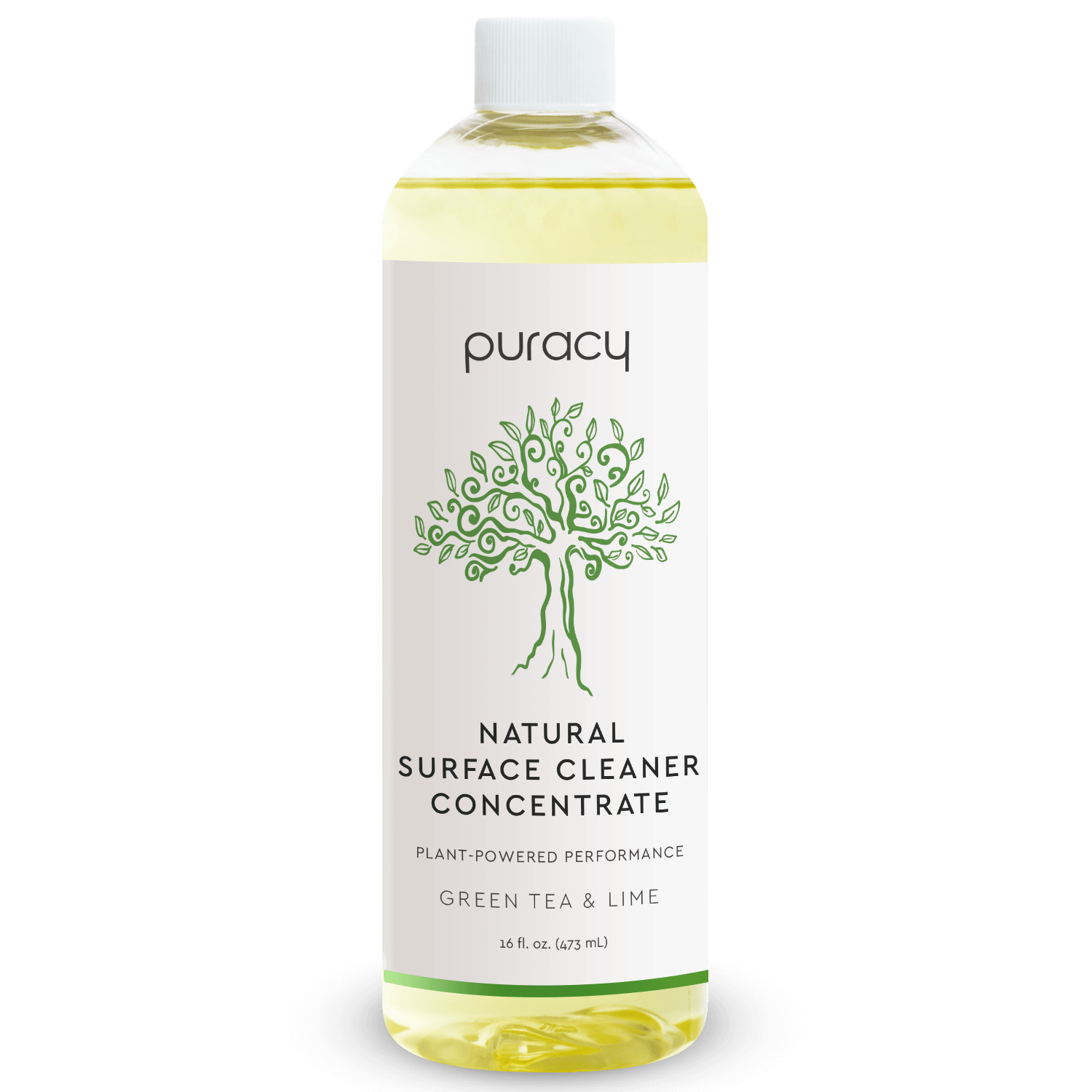 Natural Multi-Surface Cleaner - Green Tea & Lime / 16oz Concentrate