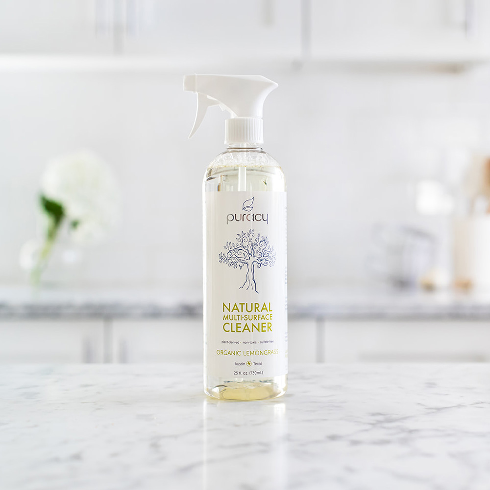Natural Multi-Surface Cleaner - Organic Lemongrass / 25oz