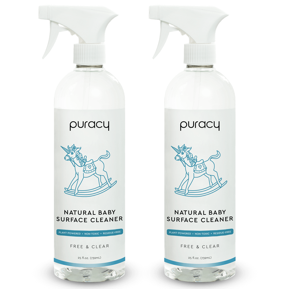Natural Baby Multi-Surface Cleaner - Free & Clear / 25oz (Pack of 2)