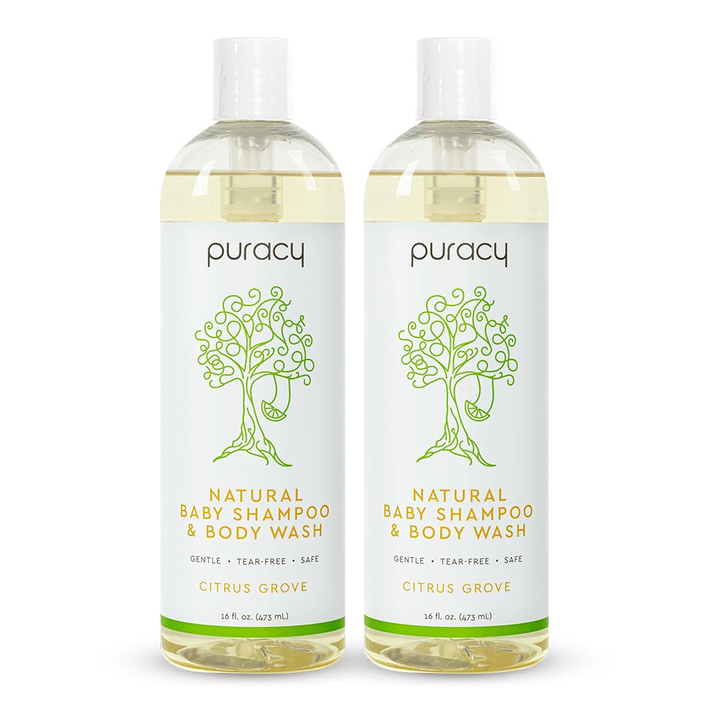 Natural Baby Shampoo & Body Wash - Citrus Grove / 16oz (Pack of 2)