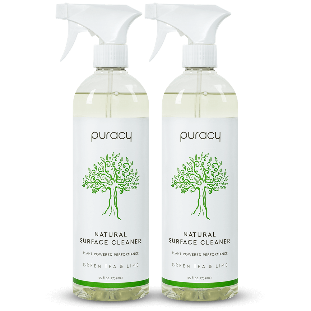Natural Multi-Surface Cleaner - Green Tea & Lime / 25oz (Pack of 2)