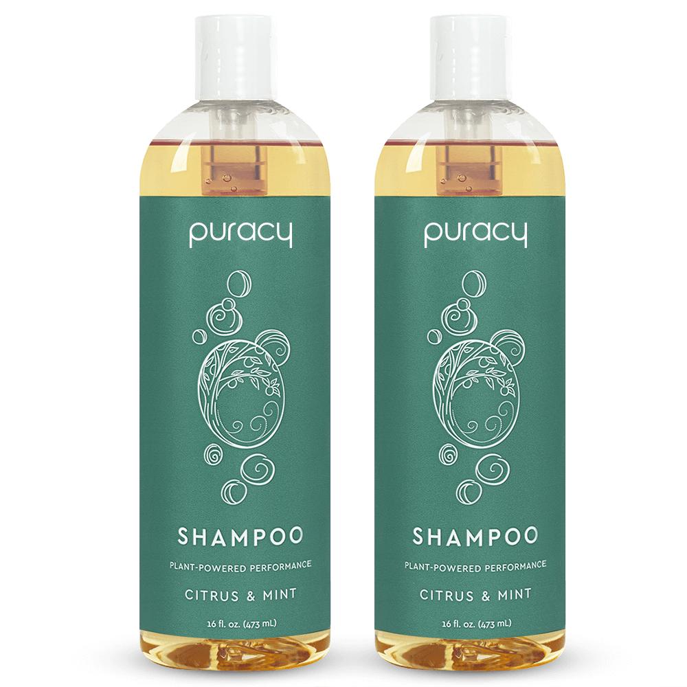 Natural Shampoo - Citrus & Mint / 16oz (Pack of 2)