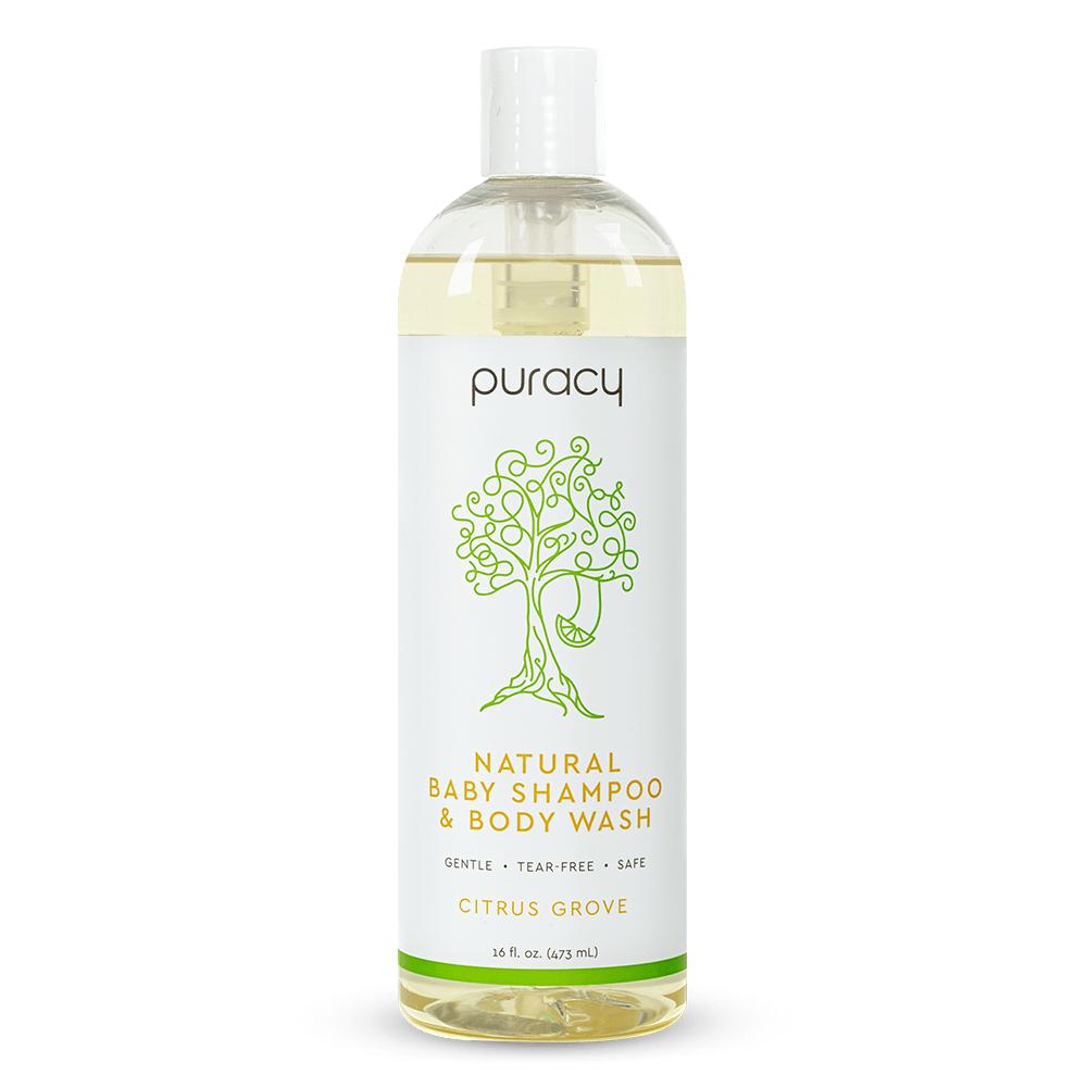 Natural Baby Shampoo & Body Wash - Citrus Grove / 16oz